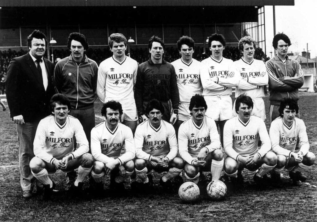 The Finn Harps team who played against Waterford in the League Cup Final